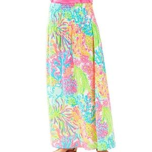 Lilly Pulitzer HOLY GRAIL print skirt! XS EUC
